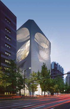 Louis Vuitton flagship store by UNStudio #architecture ☮k☮