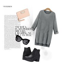 """""""Untitled #8"""" by georgia-marcellus on Polyvore featuring Steve Madden, Marc by Marc Jacobs and Karen Walker"""