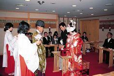 日本の伝統婚礼式を行った