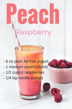 25 Amazing Smoothie Recipes for Weight Loss Are you looking for weight loss drinks? Maybe you want to know how to make weight loss smoothies? Check these delicious, easy-to-make healthy smoothies recipes for rapid weight loss. Healthy Shakes, Healthy Drinks, Healthy Eating, Protein Shakes, Clean Eating, Nutrition Drinks, Nutrition Store, Nutrition Diet, Healthy Juices