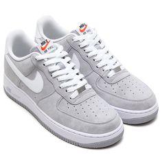 d02fc629c67d44  Nike Air Force 1 - Wolf Grey White  sneakers Jordan Basketball