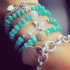 discount-designer-clothes-for-women - Womens Fashion 1 Tiffany And Co Jewelry, Tiffany Rings, Tiffany Bracelets, Tiffany Necklace, Trendy Bracelets, Jewelry Box, Jewelery, Jewelry Accessories, Spring 2015 Fashion