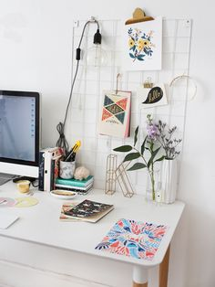 the perfect home office decor. home office decor. how to decorate your home office.