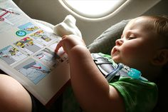 Tips for traveling by air with a baby