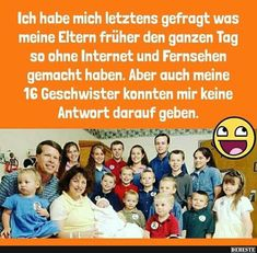 Ich habe mich letztens gefragt was meine Eltern.. Geek Stuff, Positivity, Humor, Funny Things, Facebook, Videos, Parenting Advice, Siblings, Funny Pics