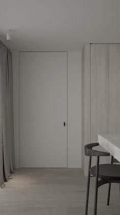 Door Design Interior, Scandinavian Interior Design, Contemporary Interior, Interior Decorating, Herringbone Wooden Floors, House Doors, House Inside, Layout, Internal Doors