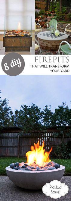 8 DIY Firepits That Will Transform Your Yard