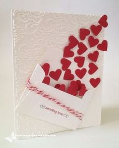 DIY Valentines Day Cards - Sending Love Card - Easy Handmade Cards for Him and Her, Kids, Freinds and Teens - Funny, Romantic, Printable Ideas for Making A Unique Homemade Valentine Card - Step by Step Tutorials and Instructions for Making Cute Valentine's Day Gifts http://diyjoy.com/diy-valentines-day-cards
