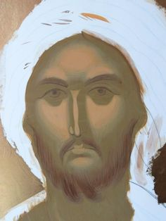 Face Icon, Byzantine Icons, Ikon, Draw, Painting, Color, Christ, Persona, Painting Art