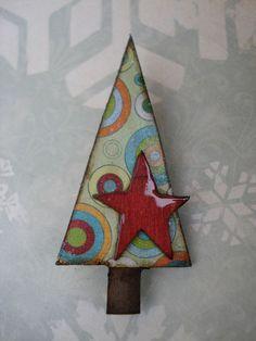 Stella di fUnKy dell'albero di Natale Spilla di suzdavisstudio