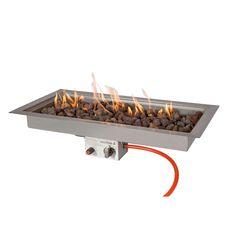 Een inbouwbrander! Ben je zelf handig dan kun je deze vierkante inbouwbrander nu in jouw eigen salon- of eettafel bouwen. Zo creëer je je eigen vuurtafel.