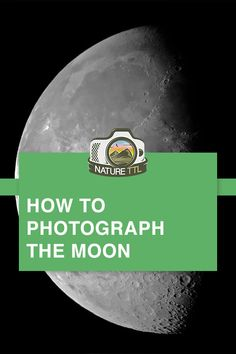 Learn how to photograph the moon on your DSLR, mirrorless camera or even on your phone! Find out the best settings for lunar photography. Pinterest Photography, Moon Photography, Photography Basics, Photography Tips For Beginners, Photography Lessons, Photography Tutorials, Creative Photography, Travel Photography, Shutter Speed Photography
