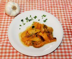 Peperoni all'aglio