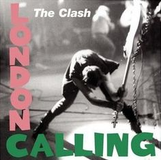 The Clash - London Calling - album cover Notice similarity to Elvis' Cover. Intentional?