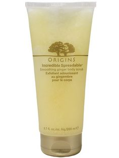 Origins Ginger Body Scrub - a recent purchase and really loving it.  Lots of grit for exfoliation and a fresh zingy fragrance to start your day :-)