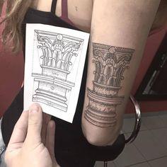 Galeria de 118 Tatuagens de arquitetura impressionantes - 60