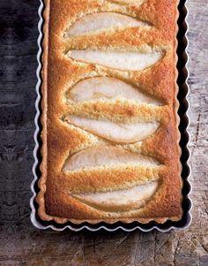 Pear Tart with Almonds Recipe | Leite's Culinaria