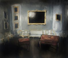 Łukasz Stokłosa: Nymphenburg, o/p, 60 x 70 cm, 2012 Rembrandt, Surrealism, Modern, Artist, Paintings, Image, Google Search, House, Kunst