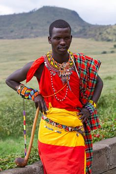Kenya fashion # fashion for men # mode homme # men's wear African Tribes, African Men, African Attire, African Beauty, African Fashion, Ankara Fashion, African Style, African Dress, Fashion Fashion