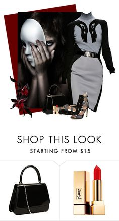 """David Coma Couture"" by flowerchild805 ❤ liked on Polyvore featuring Yves Saint Laurent and SJP"