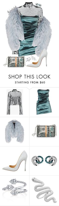 """Styledbyleek"" by stylebywho ❤ liked on Polyvore featuring Filles à papa, Plein Sud, Francesco Scognamiglio, Alexander Wang, Christian Louboutin, Links of London and StyledByLeek"