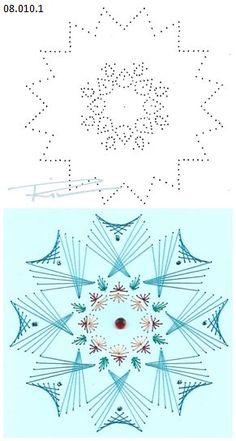 Rit Vanschoonbeek 08.010.1 borduren op papier