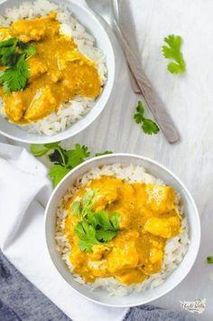 rychlé thajské kuřecí kari Diet Recipes, Cooking Recipes, Healthy Recipes, Cooking Ideas, Vegetarian Food List, Asian Recipes, Ethnic Recipes, Food Lists, Food Inspiration