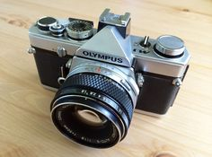 The Olympus M-1 proceeded the OM-1 and introduced a new design philosophy focused on creating unmatched compact professional quality film SLR's.