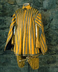 flax gult kläde, Gustav II Adolf, 1611-1632, Livrustkammaren, Sweden