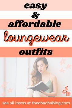 Cute, easy, and affordable summer loungewear outfits! Loungewear outfits, summer outfits, loungewear set, loungewear for women, loungewear outfits lazy days, work from home outfit ideas, loungewear aesthetic, summer comfy outfit, summer comfy outfit casual, fashion and style, outfit inspiration, summer outfit ideas, summer fashion trends, summer fashion outfits, summer fashion for women over 40