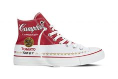 5b30d81b95b6 A look at the upcoming Converse Chuck Taylor All Star Andy Warhol  Collection which has many styles for both men and women in monochromatic as  well as color.