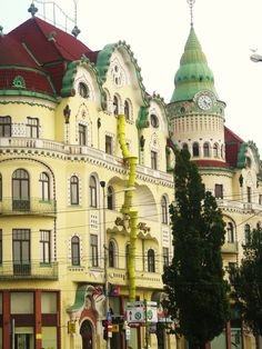 Oradea, Romania - it looks like a cake more than a building! I love it