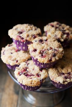 huckleberry muffins recipe | use real butter