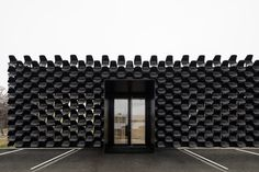 Façade as a functional banner The transformation of a former car show room on the outskirts of a housing estate into a site ofthe MY DVA group, focusing on the production of office, school and metal furniture, representsanother finished structure of the young architecture...
