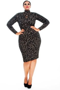 9655b20214a cutethickgirls.com plus size pencil dress 17  plussizedresses Plus Size  Fall Fashion