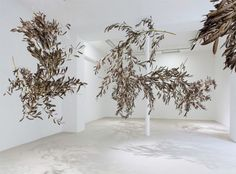 Panta Rhei, Gabriel Orozco at Galerie Chantal Crousel (Paris, France). Paper Installation, Flower Installation, Artistic Installation, Art Installations, Minimalist Wedding Decor, Dry Plants, Flower Images, Dried Flowers, Event Decor