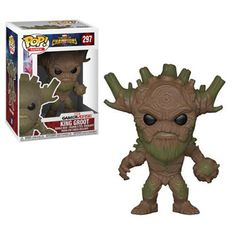 Marvel: Contest of Champions King Groot Pop! Vinyl FigureFrom the mobile fighting game Marvel: Contest of Champions, comes this King Groot Pop! King Groot stands about 3 tall and comes packaged in a window box. Funko Pop Marvel, Pop Vinyl Figures, Marvel Contest Of Champions, King Groot, Civil Warrior, Anna Und Elsa, Otaku, Pop Figurine, Pokemon