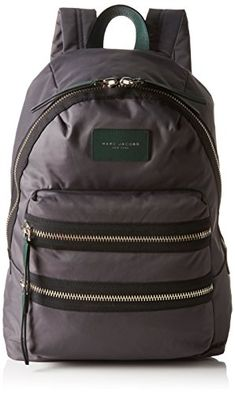 Marc Jacobs Women's Nylon Biker Back pack, Shadow -- Continue @