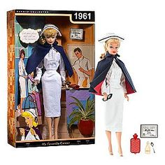 Barbie Vintage Nurse Doll. #nursing #vintage #nurses #history #Nursehistory #nurse #rns #rn