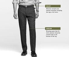 Clothing Size Charts Measurement Guide For Women Men Children J Crew