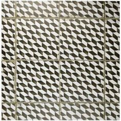Merola Tile Kings Espiga 17-3/4 in. x 17-3/4 in. Ceramic Floor and Wall Tile…