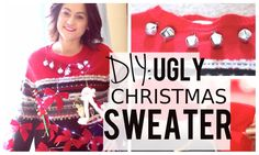 DIY Ugly Christmas Sweater for the Holidays!