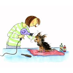 Pampering Lily the Dog - Shirley Chiang