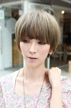 Cool Short Asian Haircut-pin it from carden