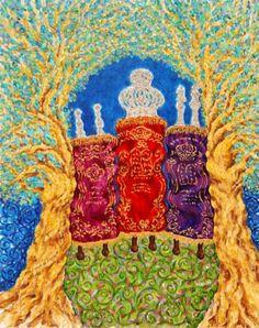 """Loren Hodes Art """"The Crown of Torah"""" lorenhodesart@netactive.co.za"""