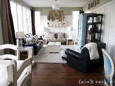 restoration hardware inspired shelves, home decor, living room ideas, shelving ideas