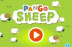 Pango Sheep. Garde- bien les moutons. Application-jeu dès 3 ans. iOS.
