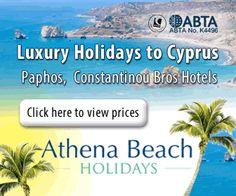 Athena Beach Holidays, Luxury Holidays to Cyprus
