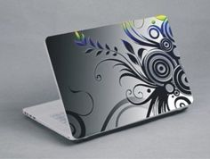 Grey, black, yellow and blue patterns Blue Patterns, Laptop Skin, Notebook, Yellow, Grey, Black, Gray, Black People, The Notebook
