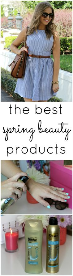 I've found the best beauty products for spring, and they're all under $5! #beautybyme #ad @suavebeauty